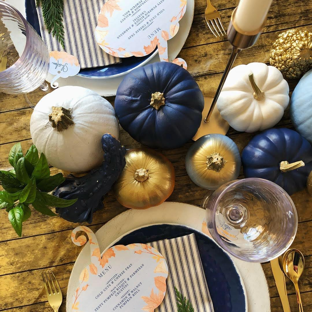Passionate Event Designs: Fall Inspired Tablescape Sweet and Savory